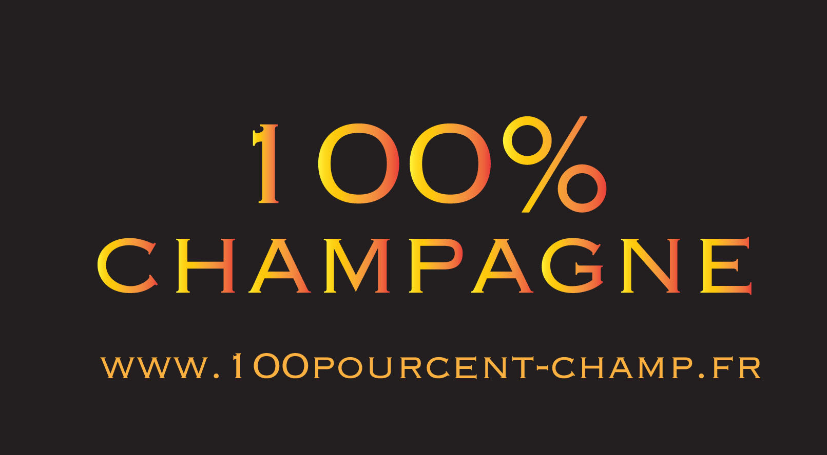 100% Champagne